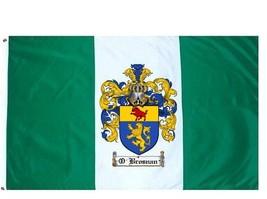 O'Brosnan Coat of Arms Flag / Family Crest Flag - $29.99