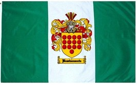 Bustamante Coat of Arms Flag / Family Crest Flag - $29.99