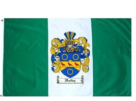 Hadley-crest Coat of Arms Flag / Family Crest Flag - $29.99