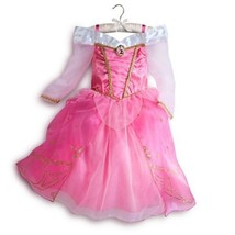 Aurora 2014 Princess Dress Gown Costume Disney Store Size 5/6 NEW - $67.82