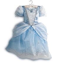 Cinderella 2014 Princess Dress Gown Costume Disney Store Size 5/6 NEW - £49.28 GBP