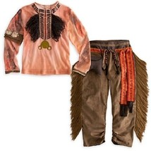 Tonto Costume Native American Indian Lone Ranger Disney Store Size FAB 5... - $760,82 MXN