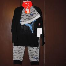 Puma Boys 3 Piece Outfit Long Sleeve Short Sleeve Pants Size 5 NWT - $18.84