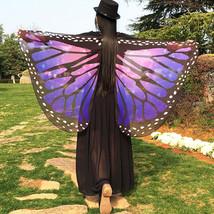 Butterfly Wings Party Outdoor Fairy Pixie Costume Accessory Fancy Dresse/festi - $18.92
