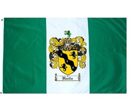 Harlin Coat of Arms Flag / Family Crest Flag - $29.99