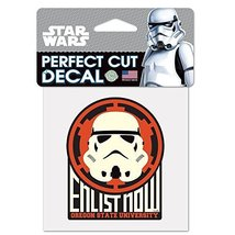 "NCAA Oregon State University 15523215 Perfect Cut Color Decal, 4"" x 4"", ... - $7.67"
