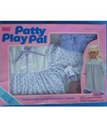 "1987 IDEAL TALKING  24"" PATTY SLEEP 'N SLUMBER FASHION OUTFIT & CASSETTE... - $28.71"