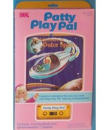 1987 IDEAL   PATTY PLAY PAL AN ADVENTURE INTO OUTER SPACE BOOK CASSETTE ... - $11.88