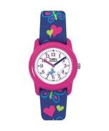 Timex Wrist Watch Kid Elastic Fabric Strap  Pink Analog Children Christm... - $22.98