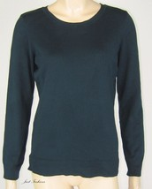 Alfani Deep Teal Long Sleeve Sweater New 8990 - $13.49