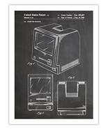 FIRST MAC COMPUTER POSTER BLACKBOARD 1986 US PATENT PRINT 18X24 APPLE MA... - $29.97
