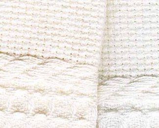 White Europa 16ct Guest Towel 13x20 100% cotton Crafter's Pride