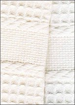 White Europa 16ct Guest Towel 13x20 100% cotton Crafter's Pride - $5.40