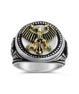 German Eagle Men's Signet ring,,,,Sterling Silv... - $94.00