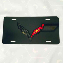 Chevrolet Corvette License Plate 3D New Aluminu... - $39.99
