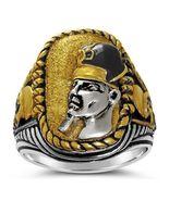 RAMSES the Great Battle of Kadesh ring Sterling... - $118.00