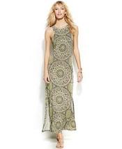 INC International Concepts Dress Maxi printed sz L  - $46.52
