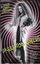 Medieval Skeleton BRIDE Adult Costume SZ 2 - 8 - $30.00
