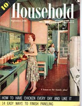Vintage September 1956 Household Magazine Mid C... - $9.89
