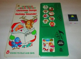 Golden Sing Along Christmas Songs with Holiday Sounds! - $28.66