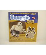 Snuggie for Dogs Blue Colored Fleece Blanket Coat with Sleeves - Extra S... - $7.00