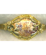 Jasper Gold Wire Wrap Bracelet 2 - $37.98