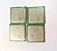 (LOT OF 4 )AMD Opteron OS2384WAL4DGI 2.7GHz 1000MHz 4x512KB/6MB Caches CPU - $9.99