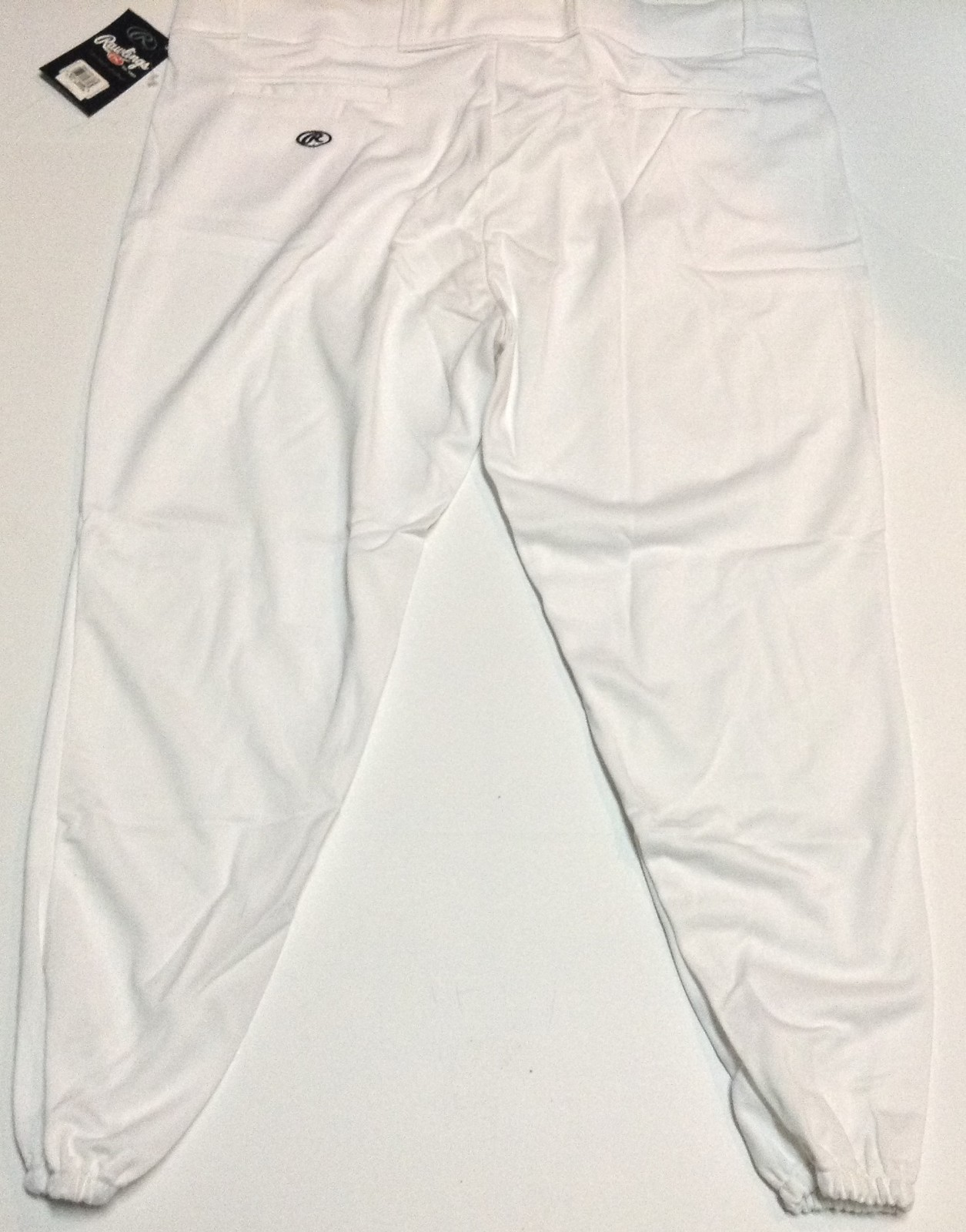 RAWLINGS Adult Baseball Uniform Pants NWT Sz 2XL White