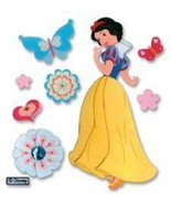 Jolees Disney Dimensional Princess Stickers  Snow White With Butterflies - $7.49