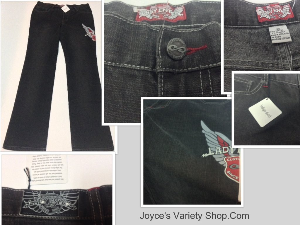 Lady enyce jeans collage