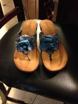 Easy Spirit Womens Shoes 9 Island Ocean New  Beaded Sandals Flip Flops W... - $37.05