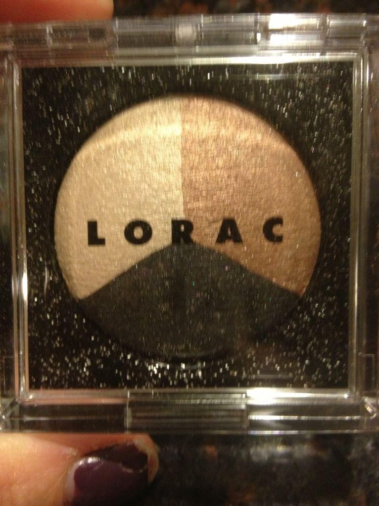 New Lorac 3 Eye Shadow Starry Eyed Movie  Full Size