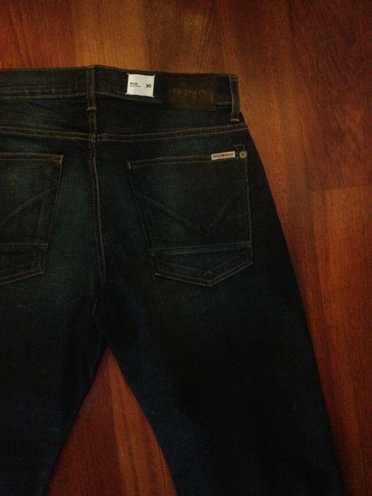 Hudson Wilde Aero  straight  leg. Mens Jeans New Denim Pants 30