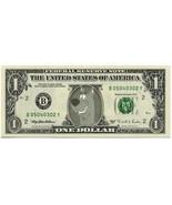 SCOOBY DOO on REAL Dollar Bill Collectible Celebrity Cash Memorabilia Mo... - €5,14 EUR