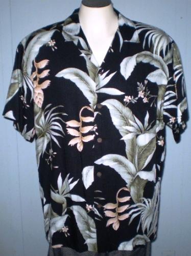 2ed2de7c Bishop st. apparel large hawaiian shirt floral pattern with pocket