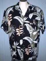 Bishop St. Apparel Large Hawaiian Shirt Floral Pattern With Pocket - $25.00