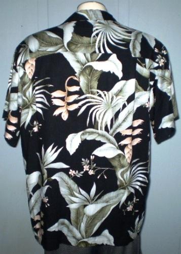 dc1c0e6b Bishop St. Apparel Large Hawaiian Shirt Floral Pattern With Pocket