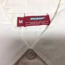 Dickie's White Work Shirt NWOT Sz Medium Short Sleeve Duck Tail - €9,32 EUR