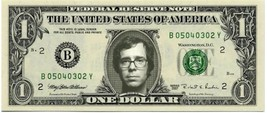 BEN FOLDS on REAL Dollar Bill - Singer - Cash Money Bank Note Currency Dinero - $4.44