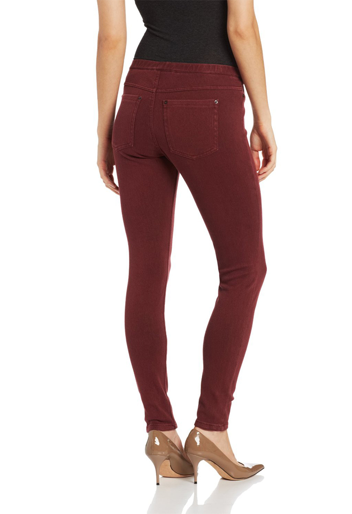 Hue Women's  The Original Jeans Leggings-Cabernet Wash-XS,M,L,XL.NEW