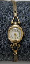Vintage 1930s Women's Bulova Working Watch with Original Gold Filled Band - $89.99