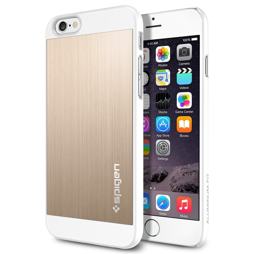 iPhone 6 Case, Spigen Champagne Gold