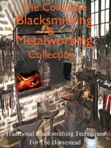 32 RARE BOOKS ALL ABOUT BLACKSMITHING METALWORK... - $11.66
