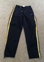 Women's Vintage NIKE Athletic Pants - Navy Blue - Medium - Fast Ship! - $24.74
