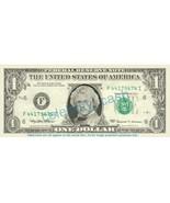 HEATH LEDGER on REAL Dollar Bill Cash Money Ban... - £4.41 GBP