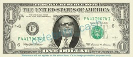 JACK NICHOLSON on REAL Dollar Bill Cash Money Bank Note Currency Celebrity - $4.44
