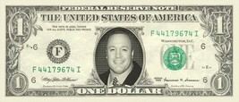 KEVIN JAMES on REAL Dollar Bill Cash Money Bank Note Currency Dinero Celebrity - $8.88