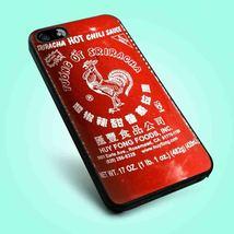 Sriracha Hot Chili Sauce iPhone 4 4S 5 5S 5C 6 Samsung Galaxy S3 S4 S5 Case - $12.99