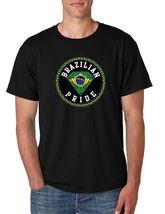 Brazilian Pride Men's Tee Shirt Country Pride Shirt - $17.00