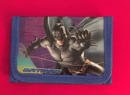 Cool Batman Children's Wallet—Great Boys Gift New! More Fun Characters Avail Too